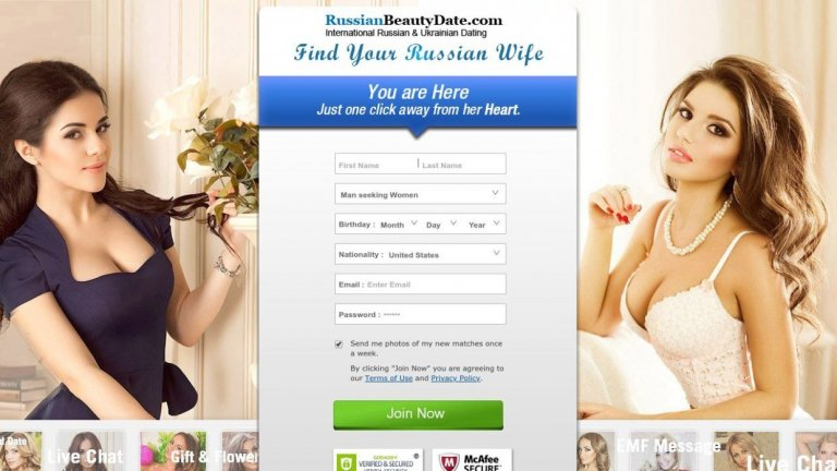 Review Russian Beauty Date Site
